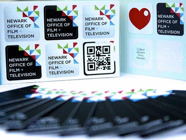 NewarkFilmTV Brand Business Card_1