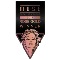Muse Creative Award Rose Gold 2017